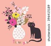 thank you. print design | Shutterstock .eps vector #396415189