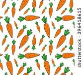 carrots seamless pattern | Shutterstock .eps vector #396418615