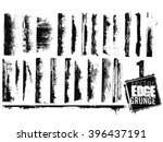 vector edge grunge isolated | Shutterstock .eps vector #396437191