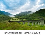 Small photo of Glenfinnan Viaduct in Scotland United Kingdom.
