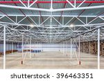 new large modern empty... | Shutterstock . vector #396463351
