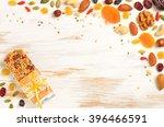 homemade gluten free granola... | Shutterstock . vector #396466591