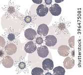 seamless pattern with cute... | Shutterstock .eps vector #396475081
