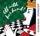 Alice In Wonderland Queen Of...