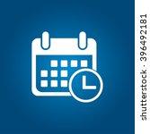 calendar icon | Shutterstock .eps vector #396492181