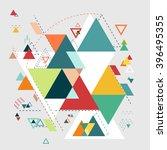 abstract  modern geometric...   Shutterstock .eps vector #396495355