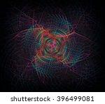 eternal web abstract... | Shutterstock . vector #396499081