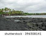 Punaluu Black Sand Beach ...