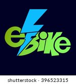electric bicycle  e bike.a...   Shutterstock .eps vector #396523315