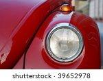 old vintage classic vw beatle... | Shutterstock . vector #39652978