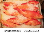 fish on ice at the fish market | Shutterstock . vector #396538615