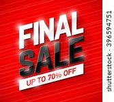final sale banner. special...   Shutterstock .eps vector #396594751