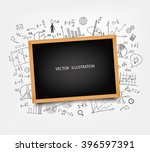 the school board on the... | Shutterstock .eps vector #396597391