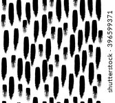 seamless pattern with brush... | Shutterstock .eps vector #396599371