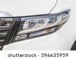 headlight of the white car   Shutterstock . vector #396635959