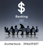 business team meeting... | Shutterstock . vector #396639307