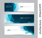 Vector design Banner background. | Shutterstock vector #396642499