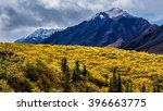 Snow Capped Mountains Of The...