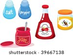 illustration of various objects ... | Shutterstock . vector #39667138