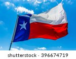 lone star flag of the state of... | Shutterstock . vector #396674719