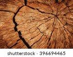 old teak wood cut texture | Shutterstock . vector #396694465