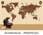 coffee drinkers or use around... | Shutterstock .eps vector #396695161
