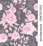 seamless pattern design with... | Shutterstock .eps vector #396707431