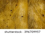 old wood damaged by borers | Shutterstock . vector #396709957