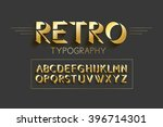 retro typography design... | Shutterstock .eps vector #396714301
