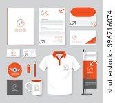 vector brochure  flyer ... | Shutterstock .eps vector #396716074