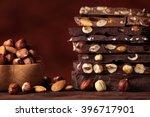 Hazelnut Chocolate Bar Pieces...