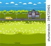 design elements of school and... | Shutterstock .eps vector #396725401