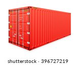 vector of cargo container for... | Shutterstock .eps vector #396727219
