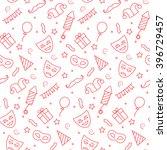carnival seamless pattern in... | Shutterstock .eps vector #396729457