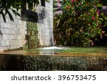 waterfall decoration in the... | Shutterstock . vector #396753475