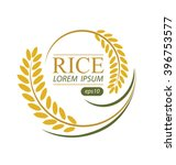 rice. vector illustration. | Shutterstock .eps vector #396753577