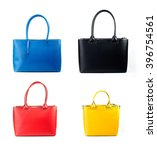 group of women leather handbag... | Shutterstock . vector #396754561