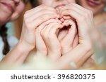 hands show heart | Shutterstock . vector #396820375