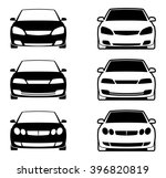 vector car icon set | Shutterstock .eps vector #396820819