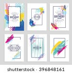 vector frame for text and... | Shutterstock .eps vector #396848161
