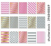 set of creative cards design.... | Shutterstock .eps vector #396848869