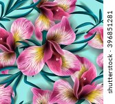 seamless pattern with... | Shutterstock .eps vector #396851281