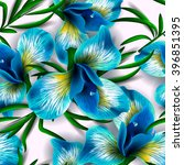 seamless pattern with... | Shutterstock .eps vector #396851395