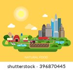 natural food farm agriculture... | Shutterstock .eps vector #396870445