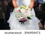 beautiful wedding bouquet in... | Shutterstock . vector #396904471