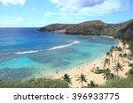 hanauma bay of hawaii | Shutterstock . vector #396933775