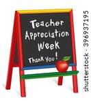 teacher appreciation week... | Shutterstock . vector #396937195