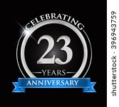 celebrating 23 years... | Shutterstock .eps vector #396943759