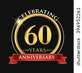 celebrating 60 years... | Shutterstock .eps vector #396952261