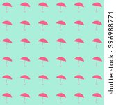 umbrella seamless background... | Shutterstock .eps vector #396988771